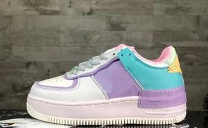 TANGJIUMULIN 1 blue white women shoes size us5.5-us8.5(China)