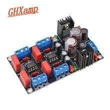 GHXAMP NE5532 przedwzmacniacz tablica dźwiękowa 4 kanałów dla tonów wysokich optymalizacji głośności przedwzmacniacz pojedyncze zasilania 1 sztuk