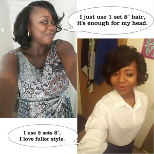 Image 5 - MOGUL HAIR Ombre Honey Blonde Romance Curl Short Style Ombre Remy Cheap Human Hair Natural Color 155g/set Brazilian Loose Wave