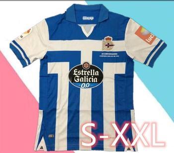 20/21 for Deportivo La Coruna adult Camiseta de futbol 2020 Deportivo La Cor Futbol Camisa Leisure Best Quality T-Shirts