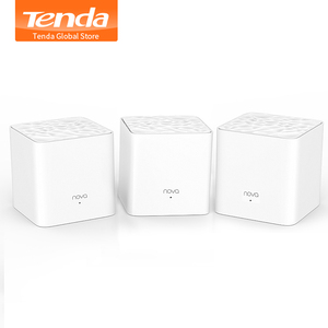 Tenda Nova MW3 Home AC1200 Wireless Router Wifi Repeater Mesh Wi-Fi System Wireless Bridge, APP Remote Manage, Easy Setup(China)