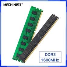 JGINYUE DDR3 8GB 4GB 16GB 1600MHz Ram Desktop Memory 240pin 1.5V DIMM Intel RAM AMD