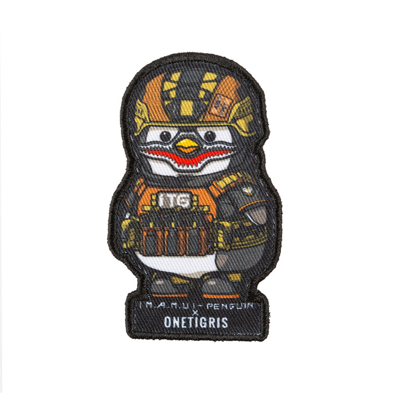OneTigris 1TG Penguin Patches Original Cool Funny Patches X Benjamin Tan Military Morale Patch