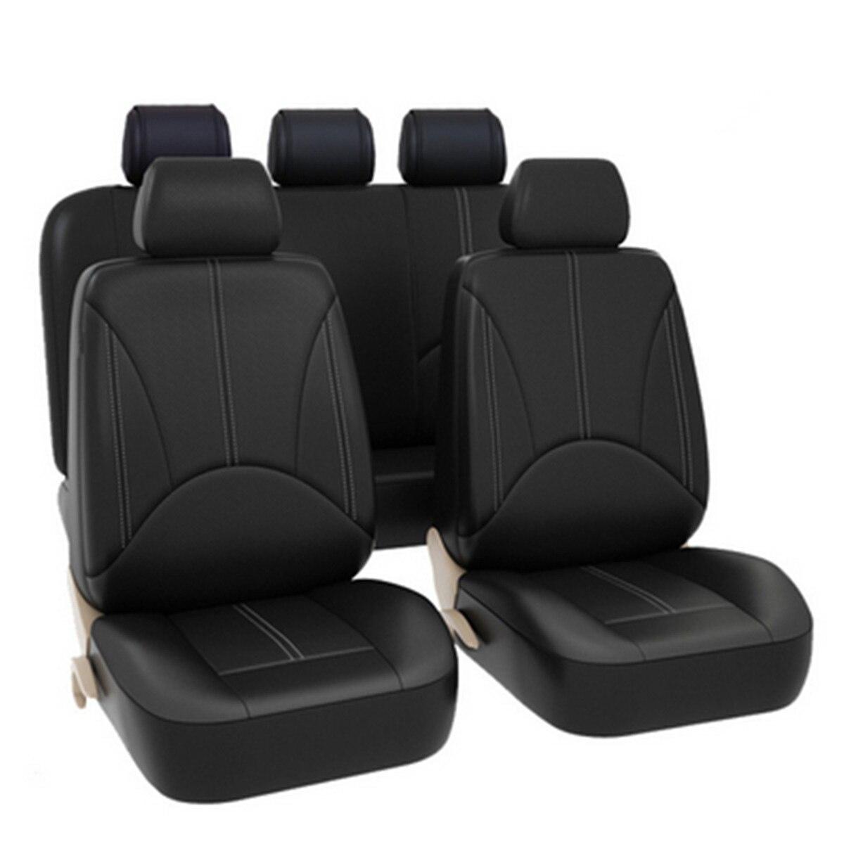 Back Seat Cover Head Rest Parts Car Auto Universal Dirt resistant Black