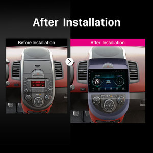Image 5 - Seicane Android 9.1 9 inch Double Din Car Radio GPS Multimedia Unit Player For 2010 2011 2012 2013 Kia Soul support DVR SWC