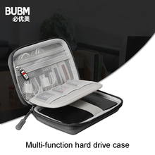 BUBM EVA Shockproof Carrying Travel Case for Seagate Expansion Seagate Backup Plus 2.5'' Inch External Hard Drive 1TB 2TB 4TB