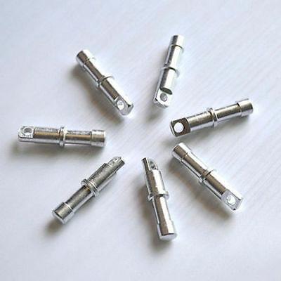 2Pcs Φ7.2mm 17mm Aluminium Alloy Spare Tent Pole End Plug for 8.5mm DIA