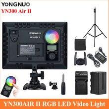 Yongnuo yn300air ii rgb светодиодный светильник для видеокамеры