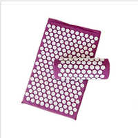 10 Colors Traditional Acupuncture Sets Acupressure Mat with Pillow Massage Mat Lotus Spike Cushion Massage and Relaxation Health