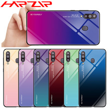 Gradient Glass Back Cover For Samsung Galaxy S8 S9 S10 A6 J6 Plus A7 A9 2018 A10 A20 A20E A30 A40 A50 A60 A70 M10 M20 M30 Case metal magnetic adsorption case for samsung galaxy a10 a20 a20e a30 a40 a50 a60 a70 m10 m20 s8 s9 s10 s10e j4 j6 j8 plus a7 2018