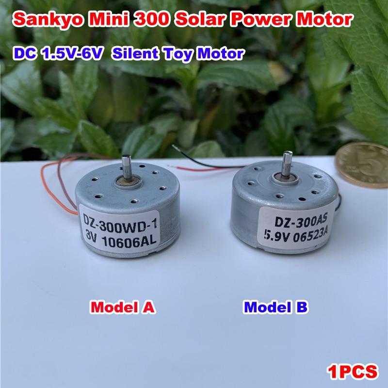 RF-300CA DC 3V 5V 6V 11000RPM Micro 300 Solar Power Motor Small Round Toy Motor