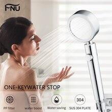 Ручной металлический фильтр для душа ванной комнаты прочные