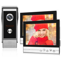 9inch Large Color Screen Wired Video Doorbell Intercom System Video Door Phone Monitor
