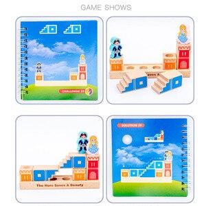 Image 5 - Montessori Camelot Jr Houten Bouwstenen Speelgoed Prince Besparen De Prinses Interactieve Spelletjes Voor Kinderen 3d Blokken Kerstcadeaus