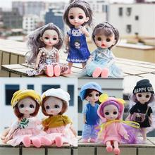 16 Cm Puppe 13 Gemeinsame Kunststoff Baby Kleidung Schuhe Kleidung Casual Wear Zubehör Mädchen Mode Puppe DIY Spielzeug Weihnachten Geschenk cheap CN (Herkunft)