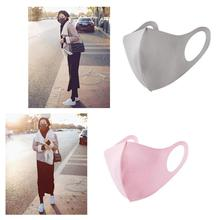 1pc Reusable Ice cotton Masks Mouth Mask Cotton Blend Anti Dust And Nose Protection Face Mouth Mask Fashion For Man Woman