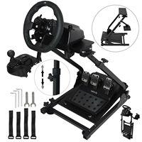 VEVOR Racing Simulator Wheel Stand Logitech G920 T500RS rubber grips Gear shifter