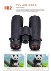 Image 4 - Telescope ED Binoculars 8X32/10x42 BAK4 Prism Phase Correction Coated High Power Hunting Binocular High Definition SV202