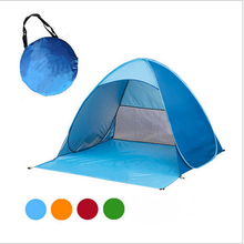 Automatic Camping Tent 2 Persons Beach UV Protection Shelter Outdoor Instant Pop-up Summer  Fishing Hiking