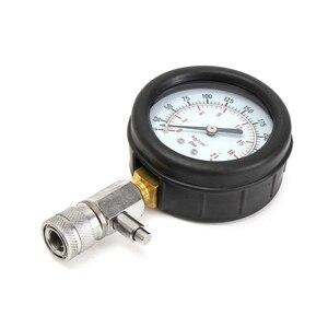 Image 3 - בנזין מנוע לחץ מד Tester ערכת סט דחיסת דליפת אבחון Compressometer כלי רכב אוטומטי משאית עם מקרה