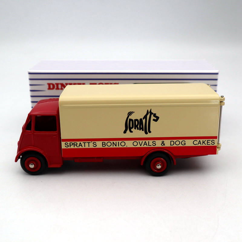 Atlas Dinky Toys 917 Supertoys GUY Van Truck Red Diecast Models Car Collection Gift