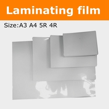 A3 A4 A6 4R 5R size Laminator Picture waterproof laminating film