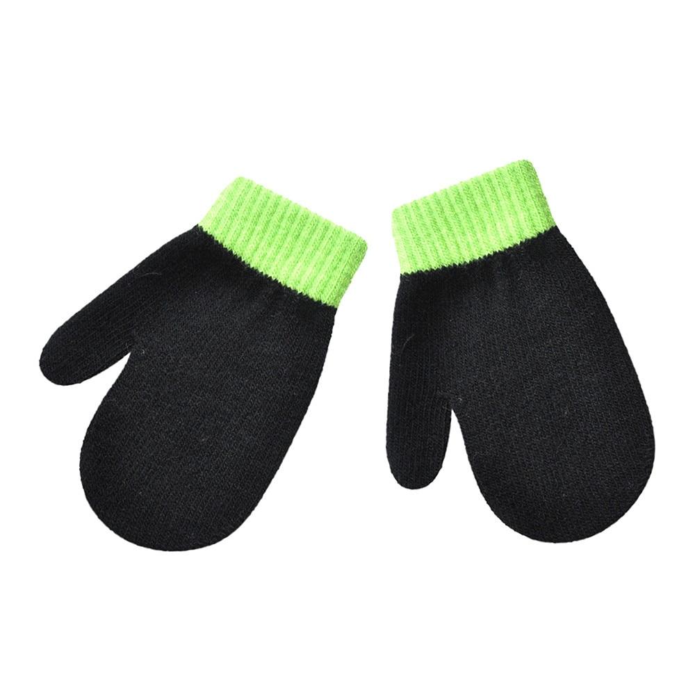 USPS gants enfant Infant winter gloves Cute baby gloves Solid Print Hot Girls Boys Of Winter Warm handschoenen kinderen