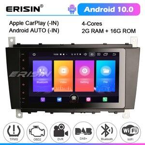 Image 1 - 2769 Android 10 Car Stereo for Mercedes Benz C/CLK/CLC Class W203 W209 WIFI GPS Radio Autoradio DVD Multimedia player