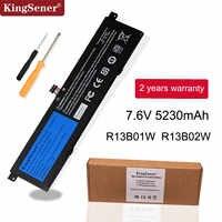 "Kingsener 7.6V 5230mAh nowy R13B01W R13B02W akumulator do laptopa do tabletu Xiao mi mi Air 13.3 ""39WH"
