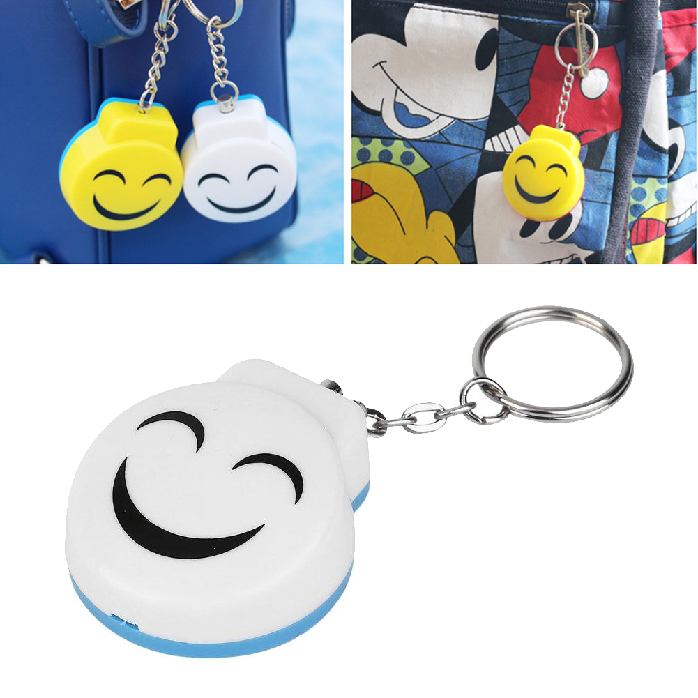 Smile Face Personal Electronic Panic Alarm Anti-Rape Anti-Attack Safety
