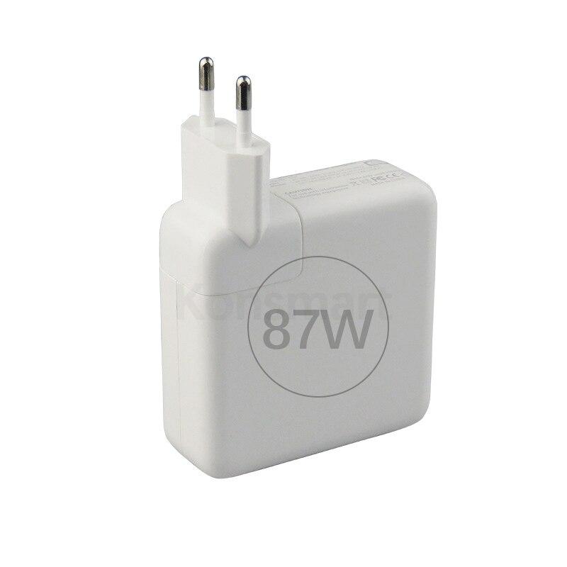 Konsmart 87 Вт PD зарядное устройство для Apple 15 дюймов Macbook Pro iPad mini iPhone 11 XR XS Max USB TypeC ноутбук адаптер питания быстрая зарядка