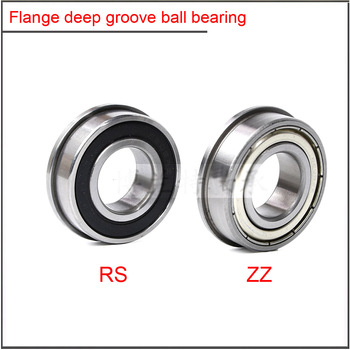 10Pcs/set  High quality Flange deep groove ball bearing F6200 F6201 F6202 F6203 F6204 F6206 F6205 F6208 F6210ZZ RS  ball bearing 30pcs lot f6900zz f6900 zz 10x22x6mm flange thin wall deep groove ball bearing