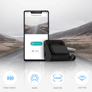 Image 2 - 70mai Dash Cam Pro 1944P HD Speed & Coordinates GPS ADAS 70mai Pro Car DVR Dash Camera WiFi APP & Voice Control Parking Monitor