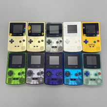 Gbc Met Nieuwe Shell En Hoge Helderheid Lcd Professioneel Gerenoveerd Voor Game Boy Color