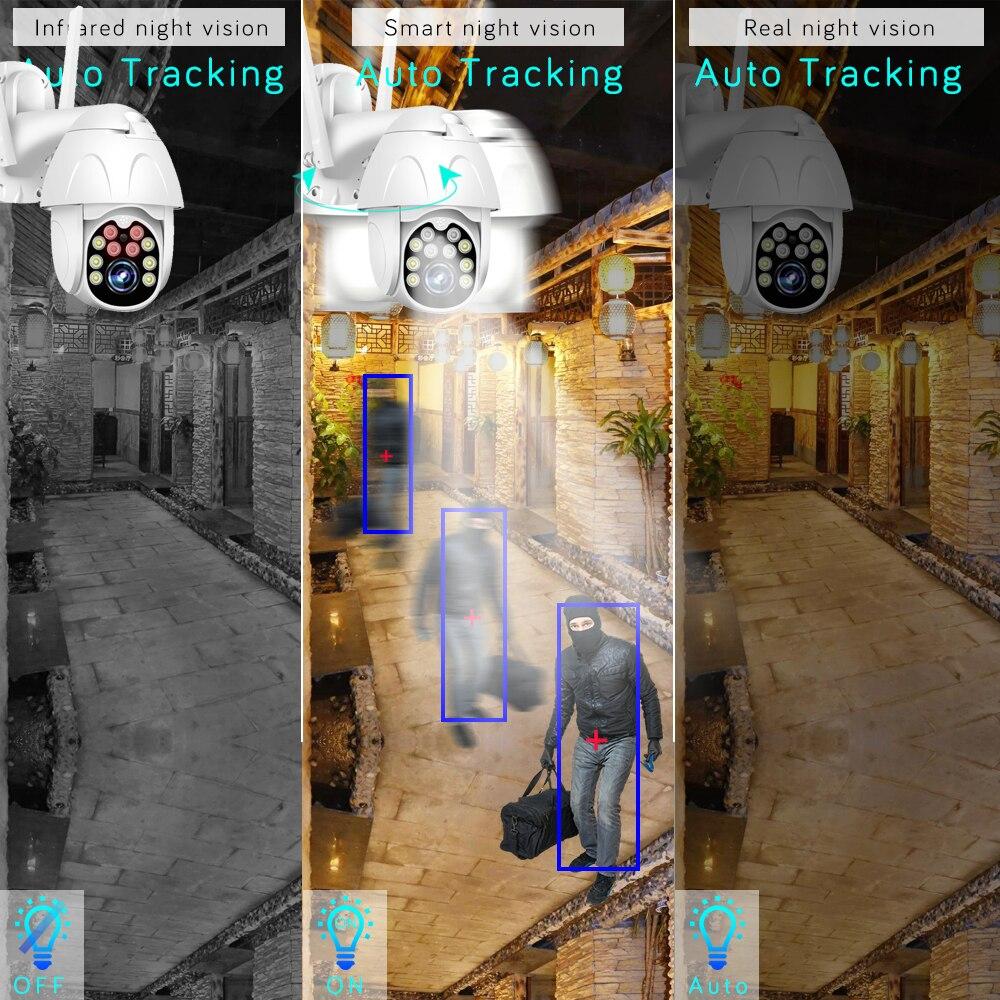 1080p Wireless IP Camera Outdoor Speed Dome camera SD Card P2P Cloud CCTV Security Video Surveillance WiFi PTZ Camera Yoosee