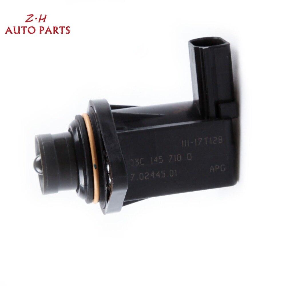 Nowy 2-Pin Turbo ładowarka przełączający zawór elektromagnetyczny 03C 145 710 D dla Audi A1 VW Golf Jetta Passat Touran EA111 1.4T 7.04247.02.0