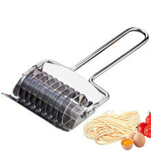 Stainless steel slicer manual slicing knife slicing noodles artifact slicing leather machinenoodle machine rougamo striping tool
