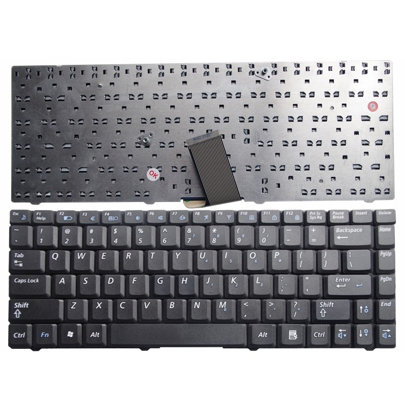 NEW US LAPTOP KEYBOARD FOR Samsung R519 NP-R519 9J.N8182.S01