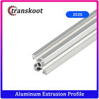 Industrial Euro Standard 3D Printer Frame Oxide Anodized Aluminum Extrusion Profile 2020 Series