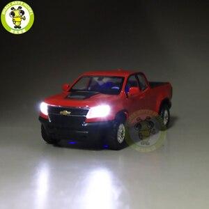 Image 2 - 1/31 2018 كولورادو بيك اب ديكاست سيارة نماذج من الشاحنات لعب الاطفال الأولاد