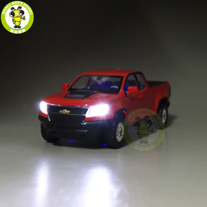 Image 2 - Camioneta COLORADO fundida modelo de camión para coche, juguetes para niños, regalos, 1/31, 2018