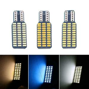 T10 192 194 168 W5W 12V LED Bulbs 33SMD 3014 Car Tail Lights Dome Lamp White DC 12V Canbus Error Free Auto Accessories