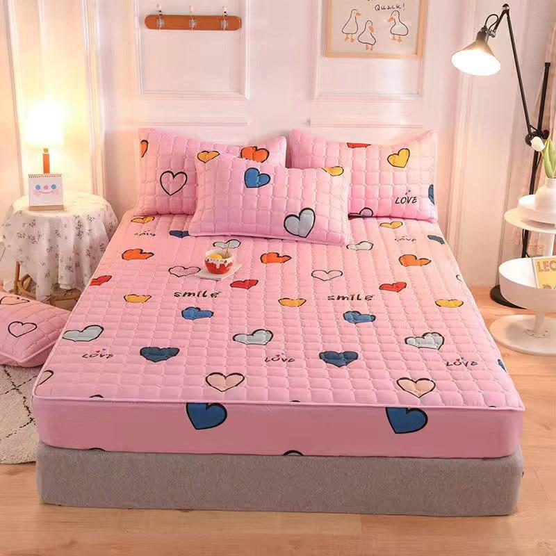 Kawaii Pink Cute Bed & Pillow Cover 2