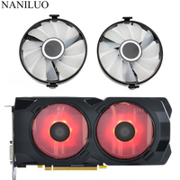 FDC10U12S9 C Cooler Fan Replace For XFX AMD Radeon RX 470 480 580 RX580 RX480 RX470 EDITION Crimson Graphics Card Cooling Fan Lüfter & Kühlung Computer und Büro -