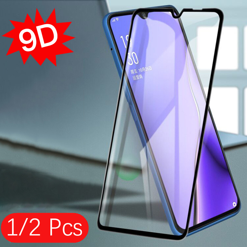 For VIVO Y11 Screen Protector Tempered Glass Film For Vivo Y12 Y15 Y17 9D Full Cover Screen Film V17