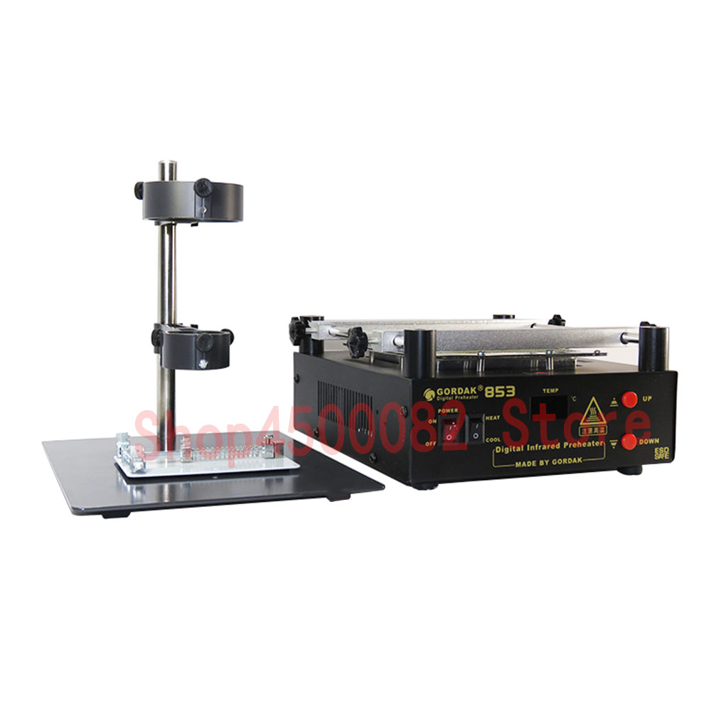 GORDAK 853 High Power Preheating PCB And Desoldering BGA IR Prep Station ESD Rework Station