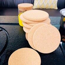 Salvamanteles de mesa Retro antideslizantes, posavasos para cocina, Estera resistente al calor, bebidas, posavasos para decoración, 4/8 Uds.