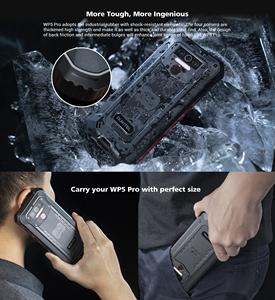 Image 3 - IP68 Waterproof 4GB 64GB Mobile Phone OUKITEL WP5 Pro Smartphone 8000mAh Triple Camera Face/Fingerprint ID 5.5 inches Android 10