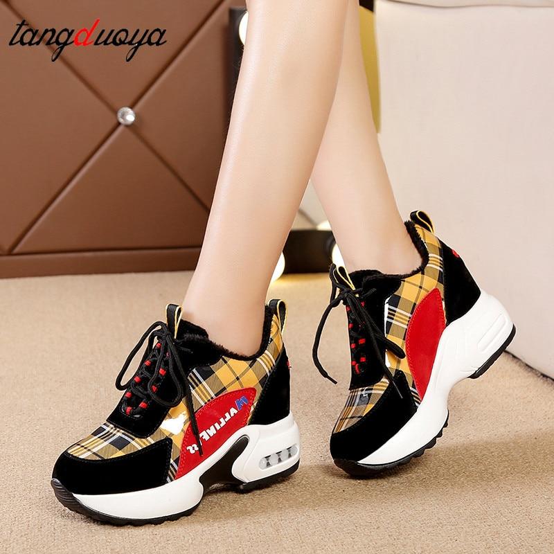 Women Vulcanize Shoes Women Sneakers Autumn Fashion Ladies Causal Shoes Woman Leather Platform Shoes Female Sneakers Women Shoes
