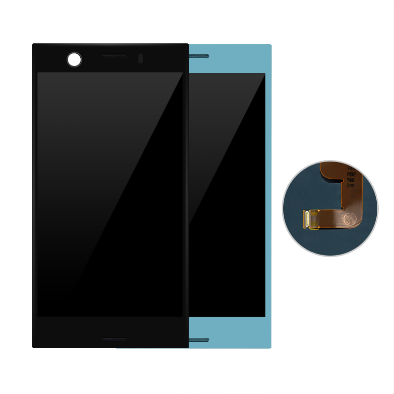 For SONY for Xperia XZ1 Compact lcd XZ1 mini LCD Display with Touch Screen Digitizer panel Assembly 4.6inch(China)